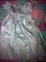 Angel Gown given to Micci and her family for Logan Lee.
